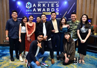 Photo Gallery of MARKies Awards 2019 Singapore