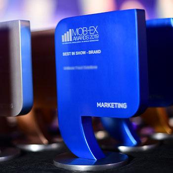 mob-ex awards 2019 Trophy